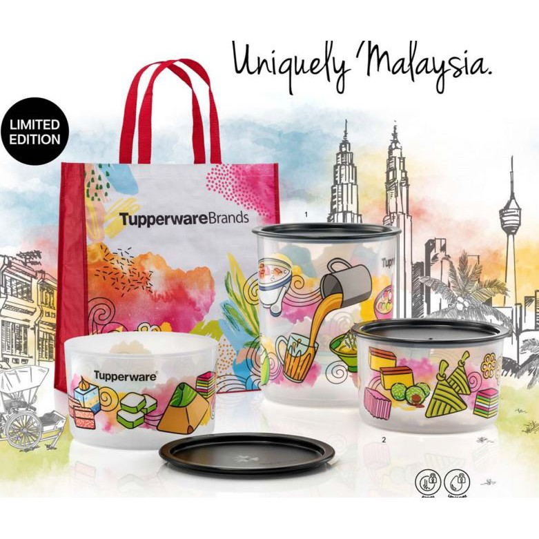 Tupperware super limited edition import from oversea owl baseline.