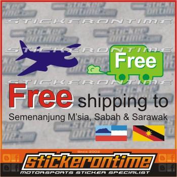 Car Windscreen Sticker Bmw Motorsport M3 M5 E36 E46 E56