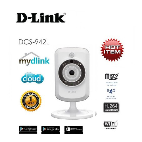 D-Link DCS-942L Wireless and IP Camera With IR