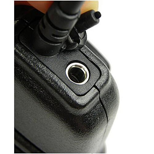Waterproof shoulder remote speaker Mike PTT For 1 pin Motorola talkabout  two-way