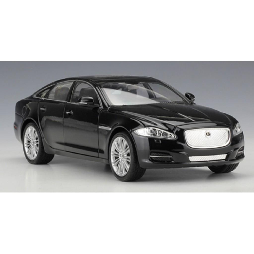 Welly 1 24 Jaguar Xj Black Diecast Model Sports Racing Car Toy New