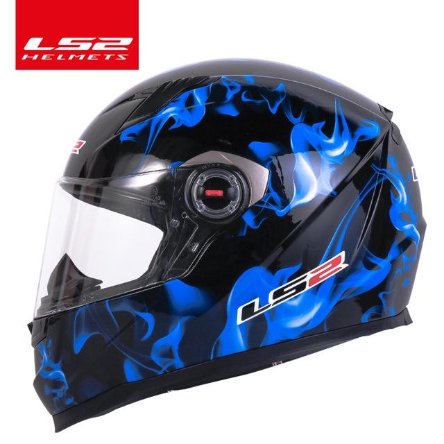 Original Ls2 Ff358 Full Face Motorcycle Helmet Ls2 Motocross Racing Man Woman Casco Moto Casque Ls2 Ece Approved No Pump