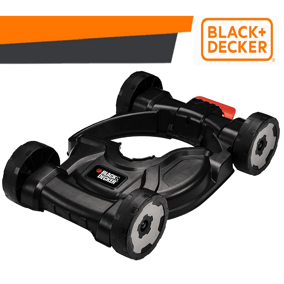 BLACK & DECKER (MOVER ONLY)CM100-B1 OUTDOOR TOOL ELECTRICGRASS TRIMMER WHEELED DESK PUSH MOVERLAWN EDGE PEMOTONG RUMPUT