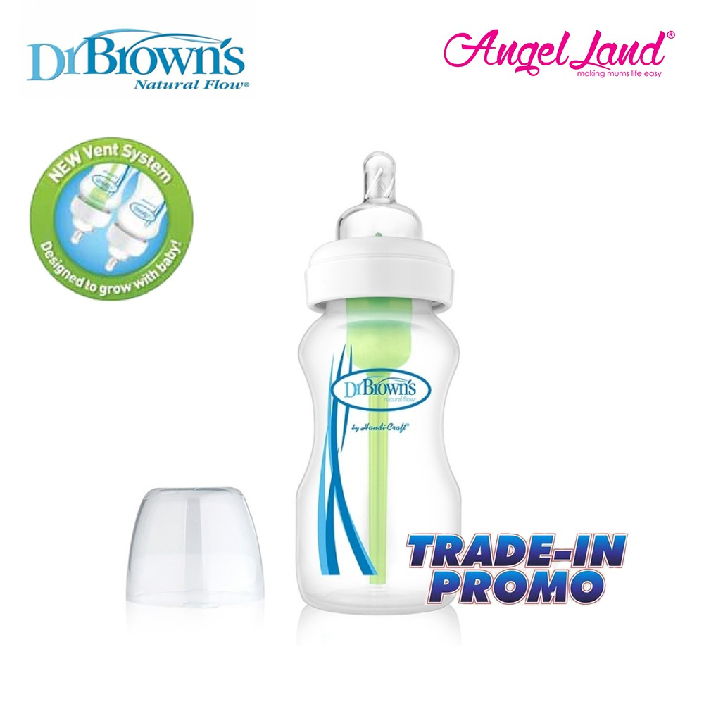 Dr Brown's PP WideNeck Options 9oz/270ml [Trade-in Promo]
