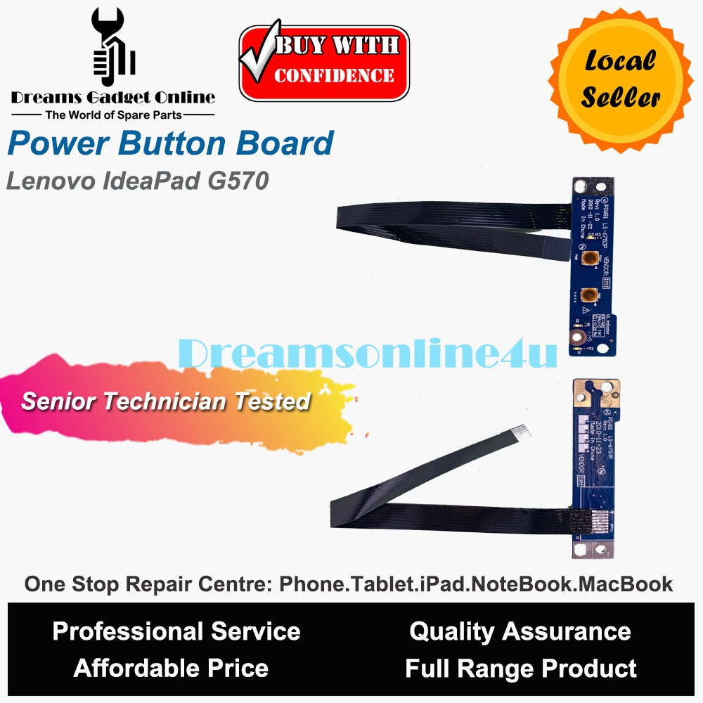 Sale Oem Lenovo G460 Power Button - TropicalWeather