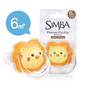[GENUINE READY STOCK MY] Simba Thumb Shaped Pacifier (6+M)