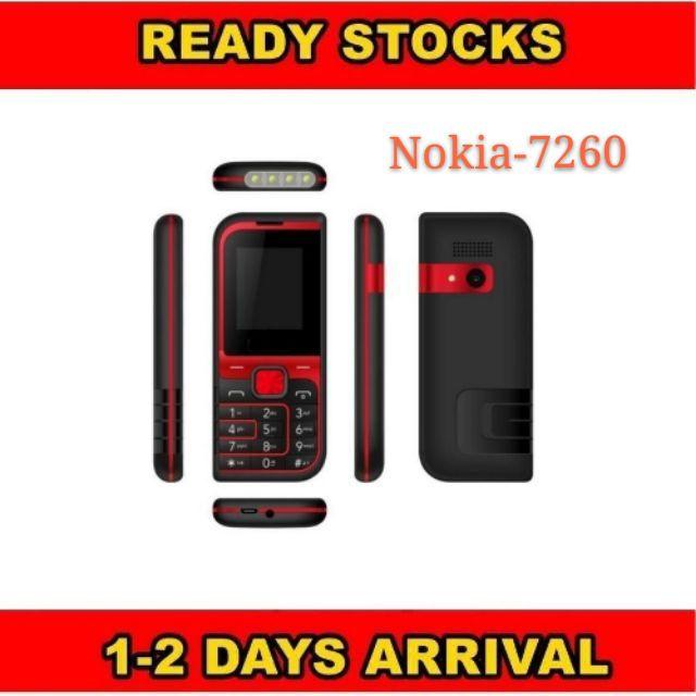 Nokia 7260 mobile phone vl dual-slm dual standby