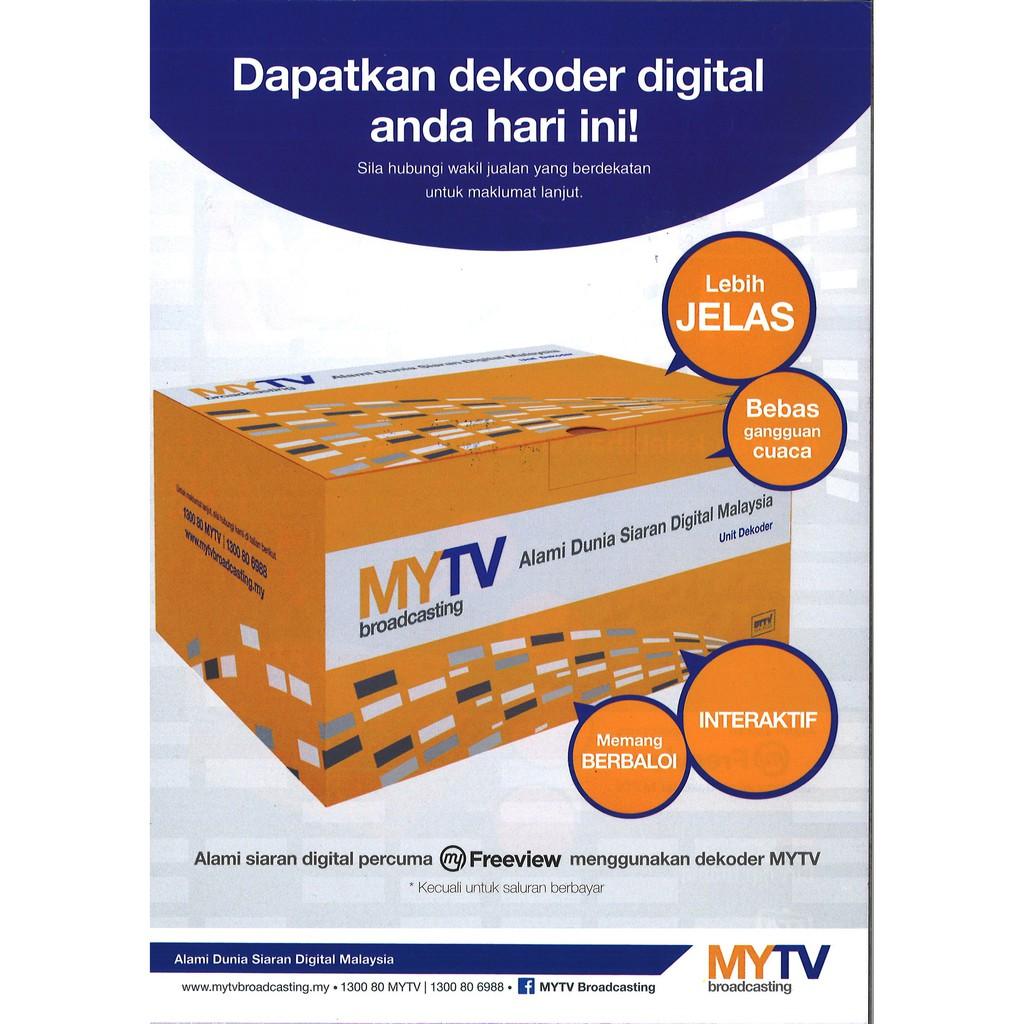 MYTV Broadcasting Advance Decoder IR 9410 | Shopee Malaysia