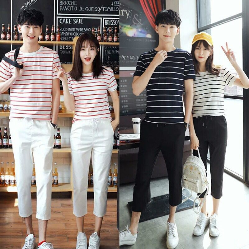 striped t shirt style