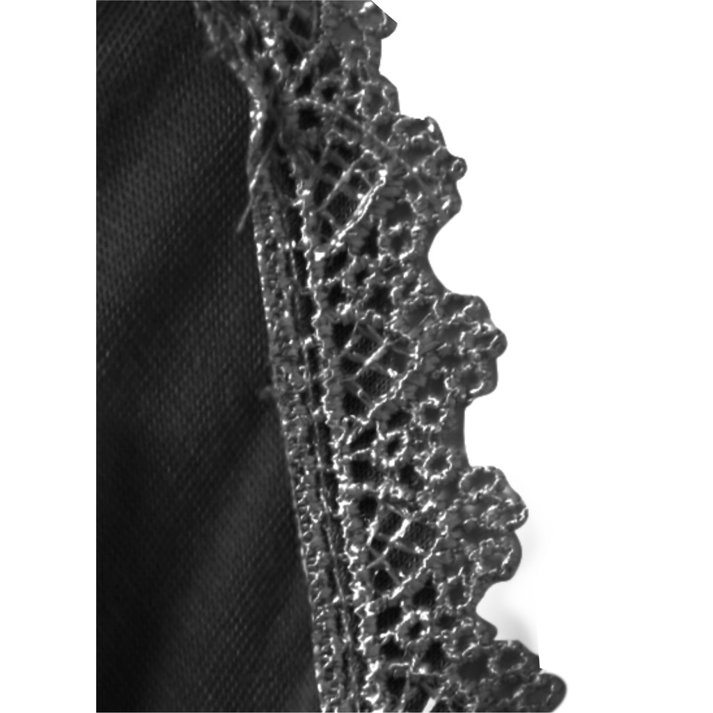 Semlouis Aurat Sarung Lengan - Black with Lace (Design 8) / Handsocks
