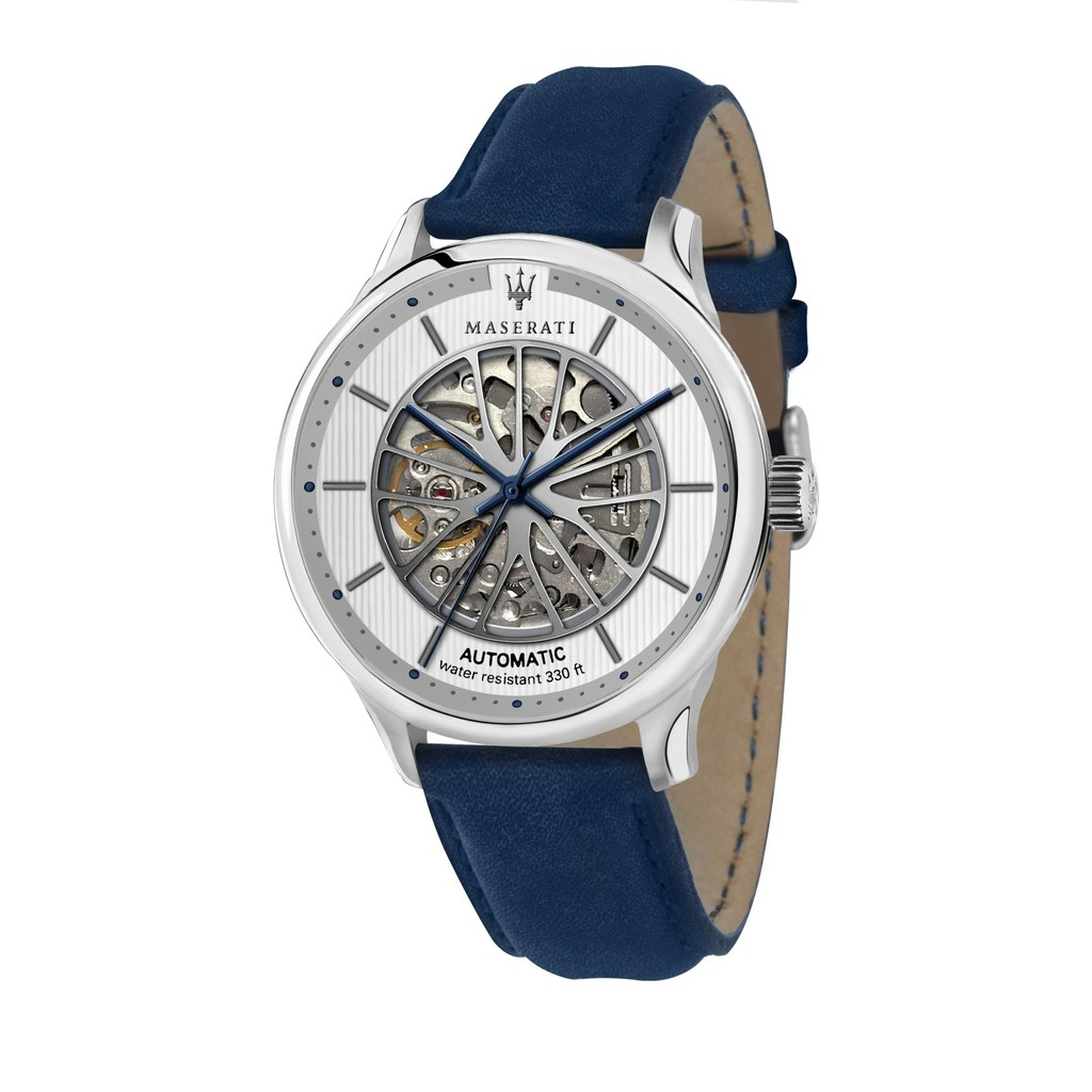 Maserati Gentleman Automatic Watch - Blue (43mm) R8821136001