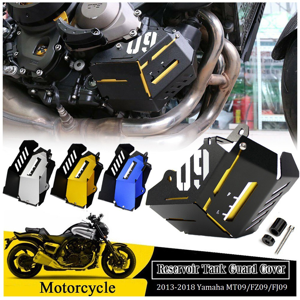 Radiator Side Guard Cover Protectors for Yamaha MT-09 FZ-09 2013 2014 2015 2016