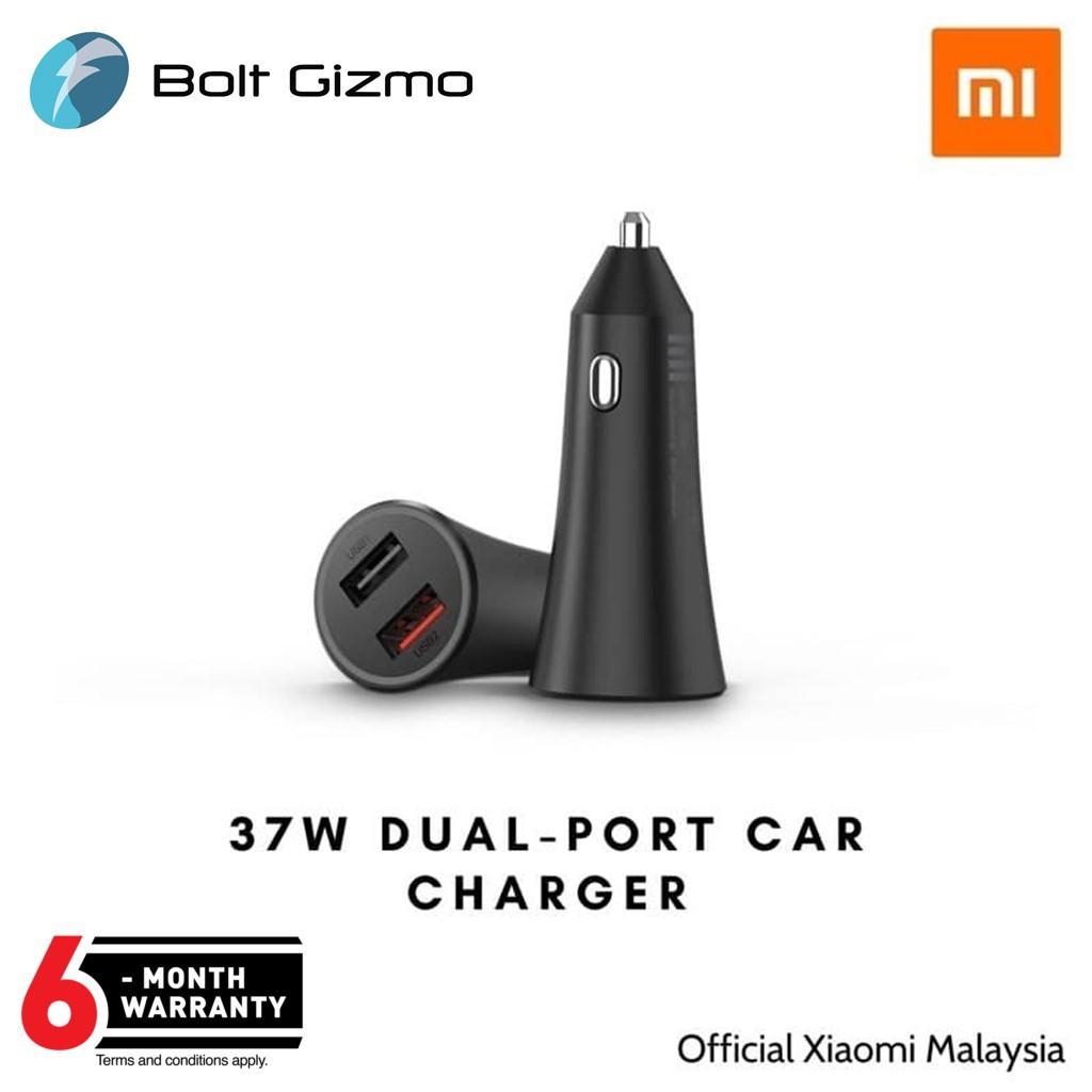 Xiaomi Mi 37W Dual-Port Car Charger - Global Version - (Warranty by Xiaomi M'sia)