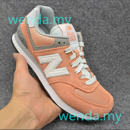 New Ready stock Original new balance 574 men and women sneakers shoes Breathable