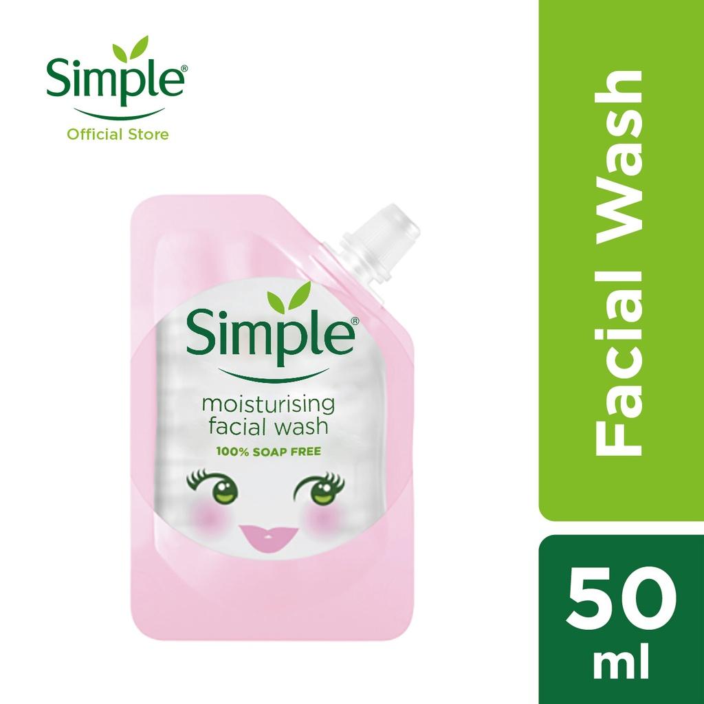 Simple KTS Moisturising Facial Wash (50ml)