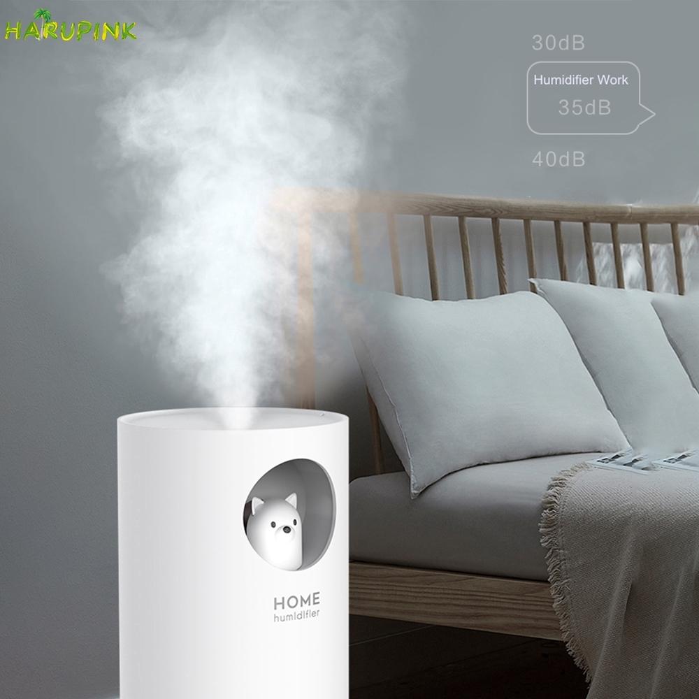 Spot M107 Polar Bear  Cute  humidifier  usb mini desktop aromatherapy car creative mute humidifier Har