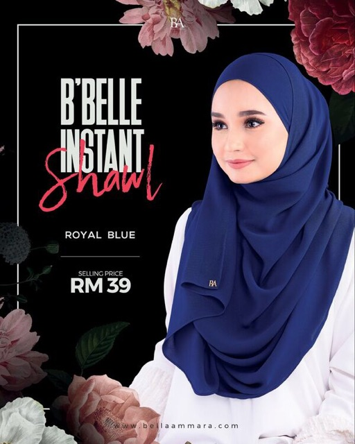 Bbelle instant Shawl special edition