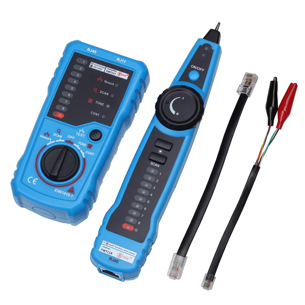 Phone Wire Network Cable Tester Tracker for MASTECH MS6812 | Shopee ...