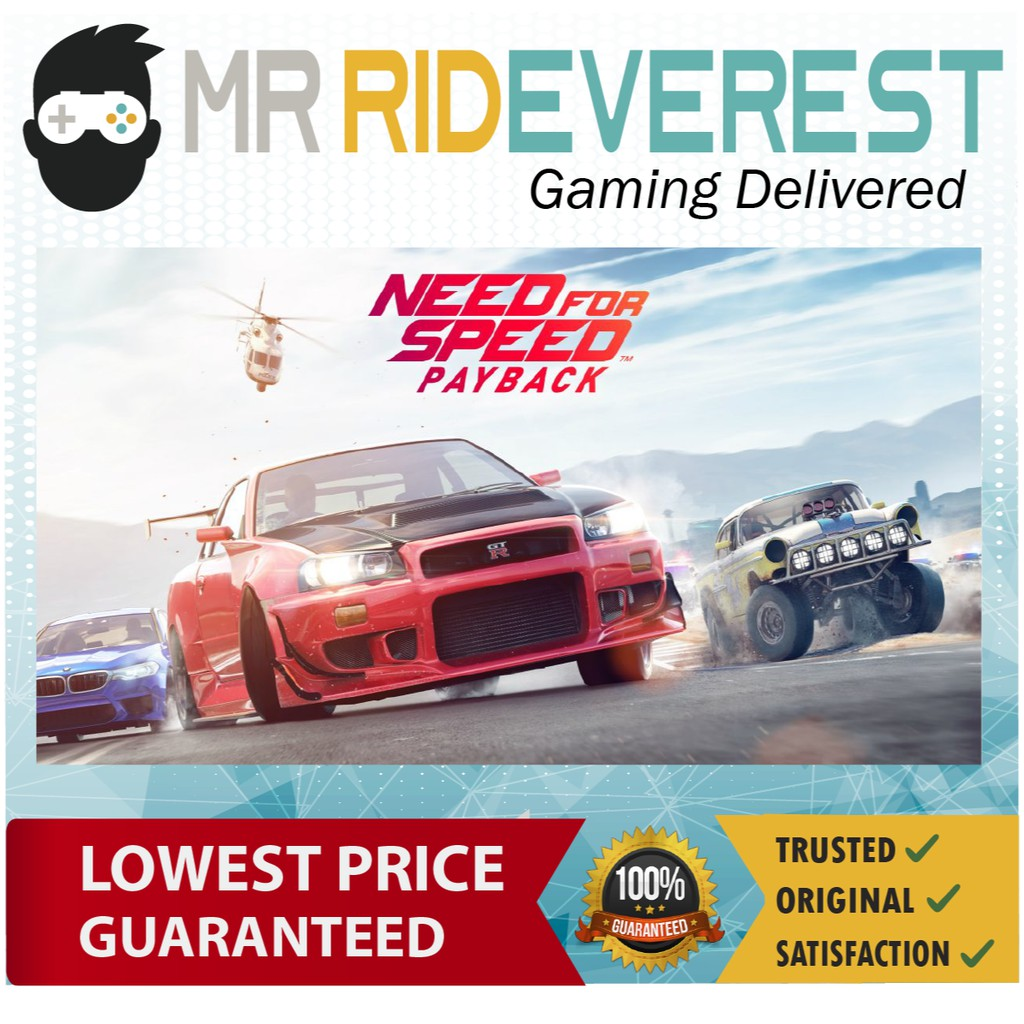 Need For Speed Payback Nfs Payback Pc Origin Digital Key
