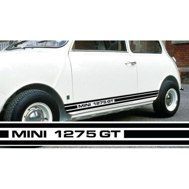 Viynl//graphics//stickers//decals MINI 1275 GT STRIPE DECAL SET NEW!!
