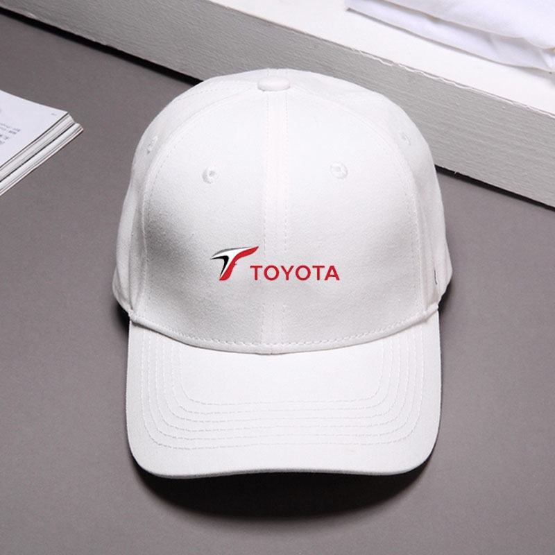 Snapback Curved Mesh Hats All Cotton Dad Cap Toyota-Logo
