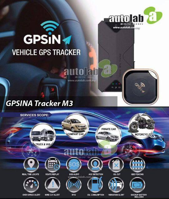 GPSiNA M3 GPS Tracker