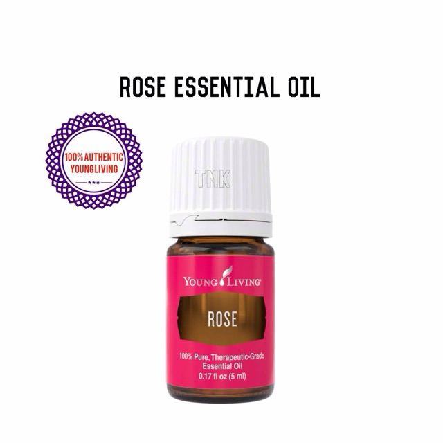 Authentic Young Living Rose Essential Oil 5ml Shopee Malaysia