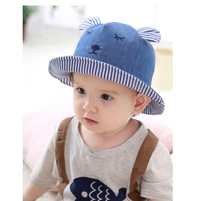 b5699584f55 Baby cotton cap spring and autumn thin Korean male baby head cap cotton  tire cap autumn newborn female 0-3-6 months 5