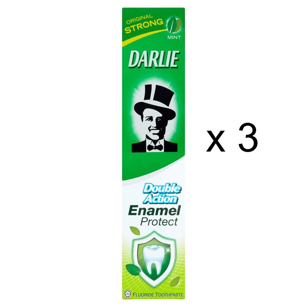 Darlie Double Action Enamel Protect ( 3 pcs x 200g )