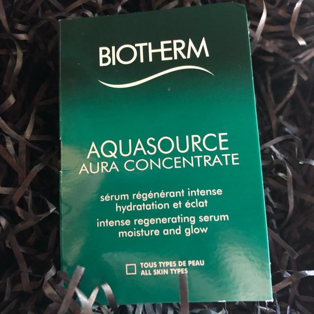 [พร้อมส่ง]Biotherm aquasource aura concentrate