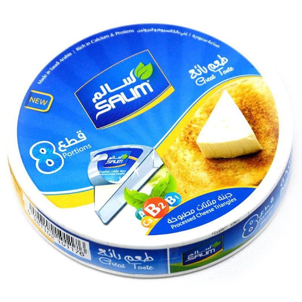 (LIMITED OFFER PRICE)  Processed Triangle cheese / Keju Krim SALIM 120gm