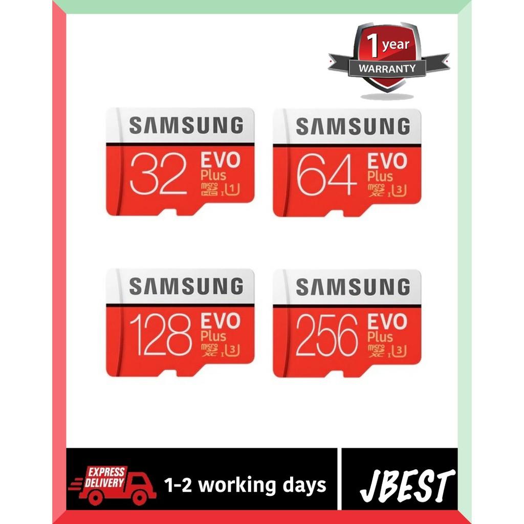 Original Samsung TF EVO Plus U3 32gb 64gb 128gb class10 Micro SD Memory Card MIcroSD TF card