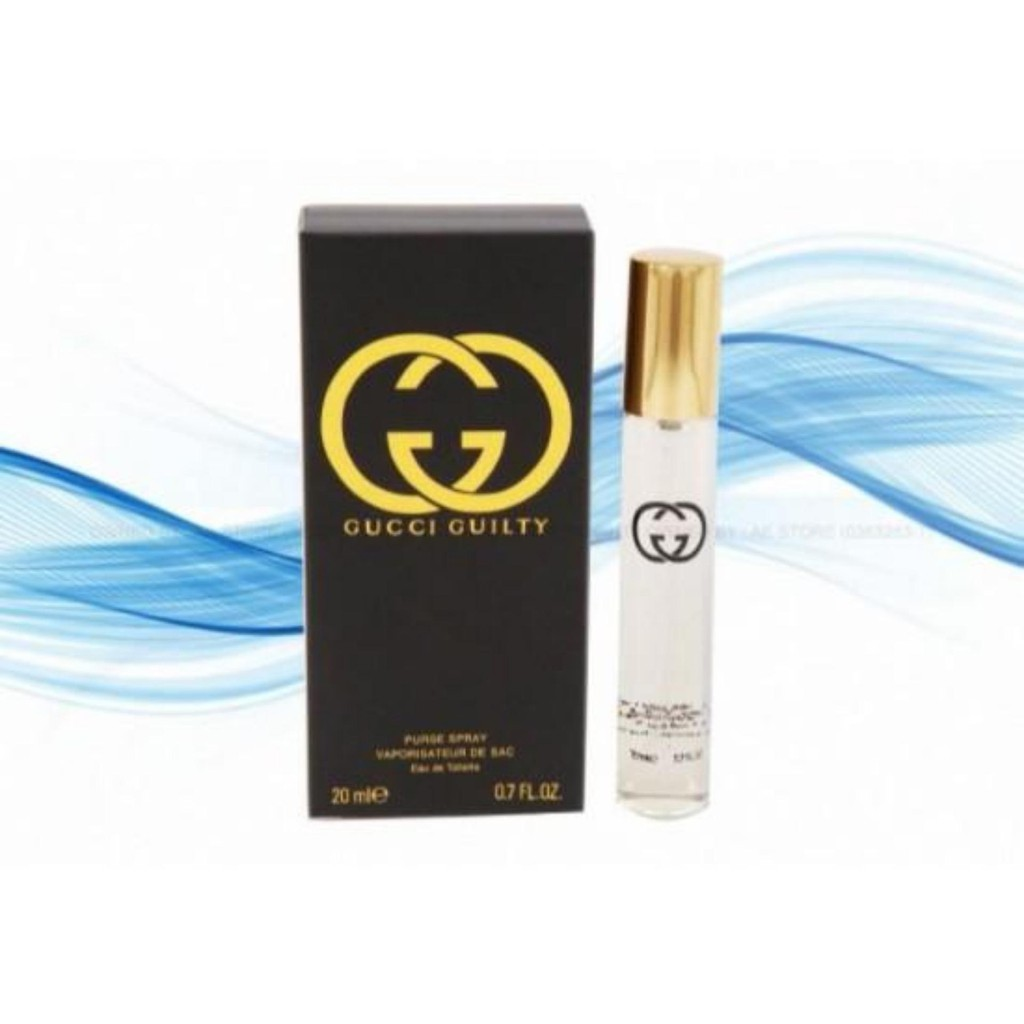 GUCCI GUILTY BLACK (Europe Authentic Perfume 20ML)