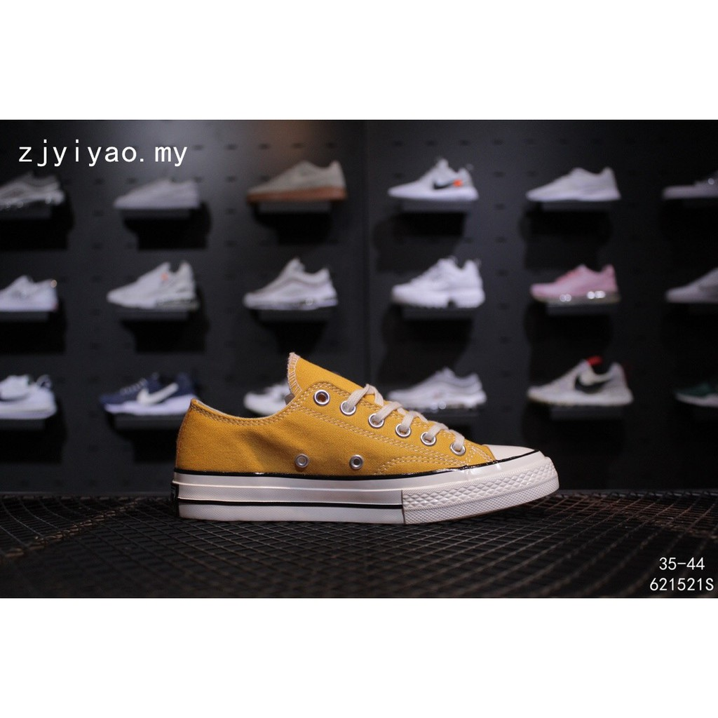6cd01d287c Converse 1970s Original Women's shoes Men's sports Yellow sneakers csual  shoes