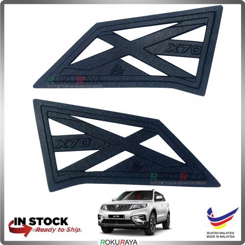 Proton X70 2018 Rear Triangle Side Window Mirror Cover 2 Piece