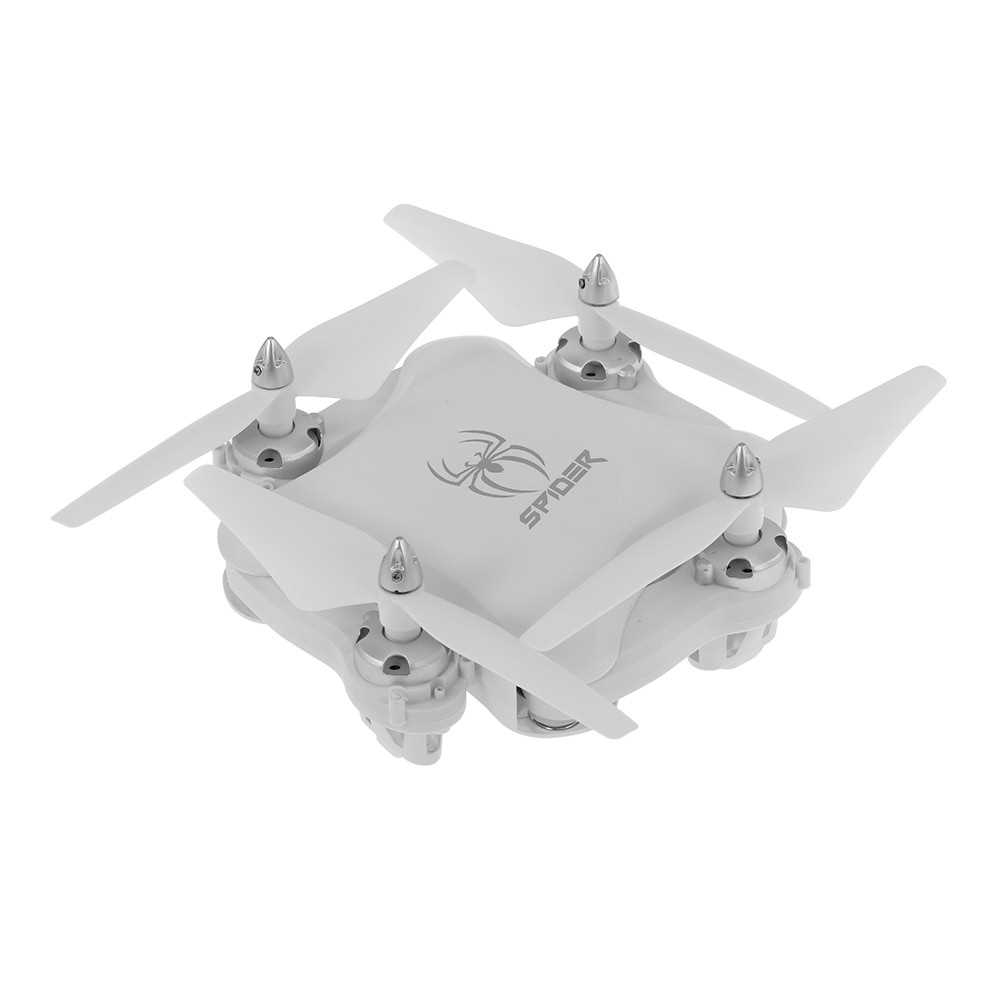 YILE TOYS S16 2.4G RC Drone Altitude Hold Headless Mode Foldable Quadcopter for Beginners (White)