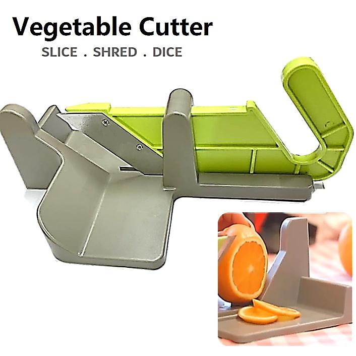 Push and Pull Chopper Nicer Dicer Kitchen Knife Blade Vegetable Cutter Slicer Peeler Grater Grinder Mincer Shredder
