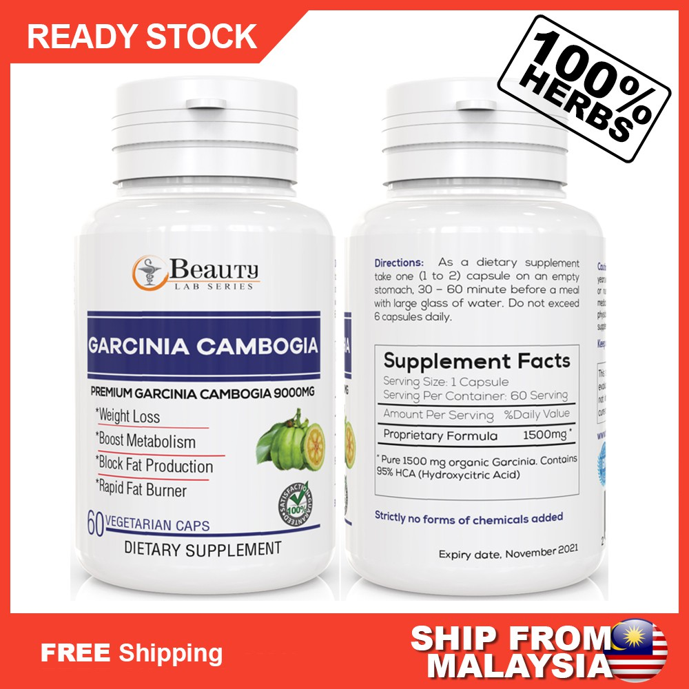 6000 mg de garcinia cambogia