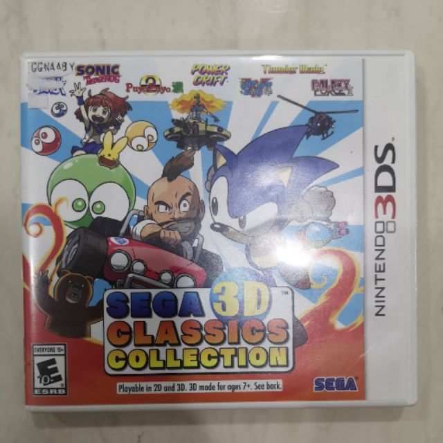 Nintendo 3DS Sonic 3D Classic Collection