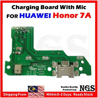 Charging Port Charging Board For Huawei Honor 7A With Mic +