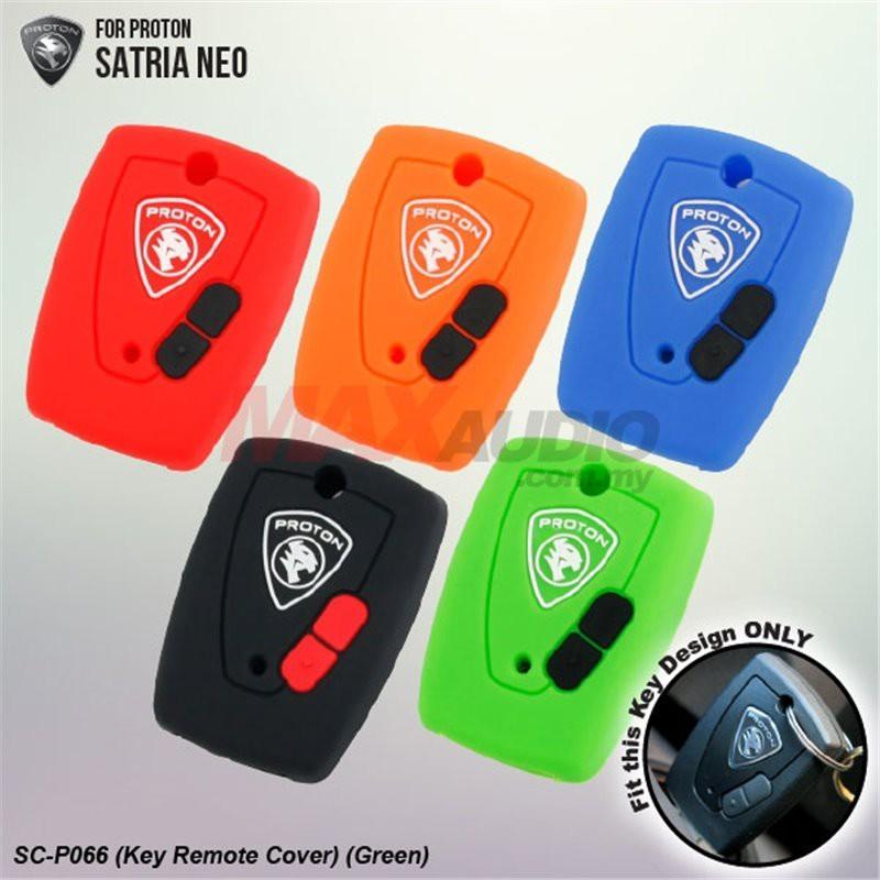 [FREE Gift] PROTON SATRIA NEO 100% Silicone Car Remote Key Cover Case Protector