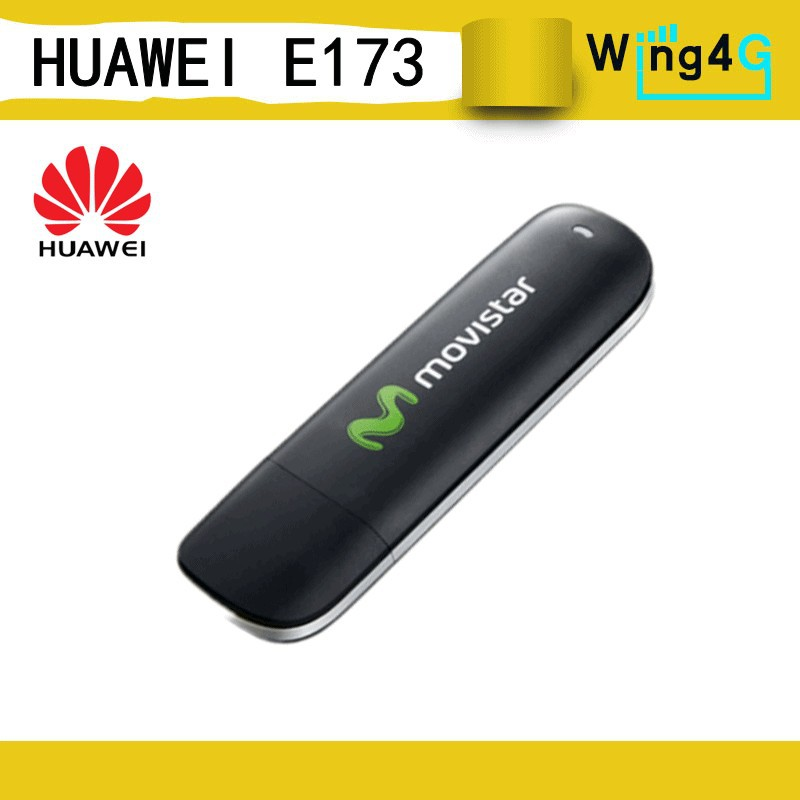 Unlocked Huawei E173 3G USB Modem Data Card with antenna connector