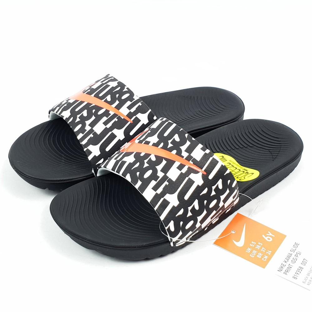 b14489cc0800f3 NIKE KAWA SHOWER SLIDE 832528 - 001 Waterproof Slippers Black ...