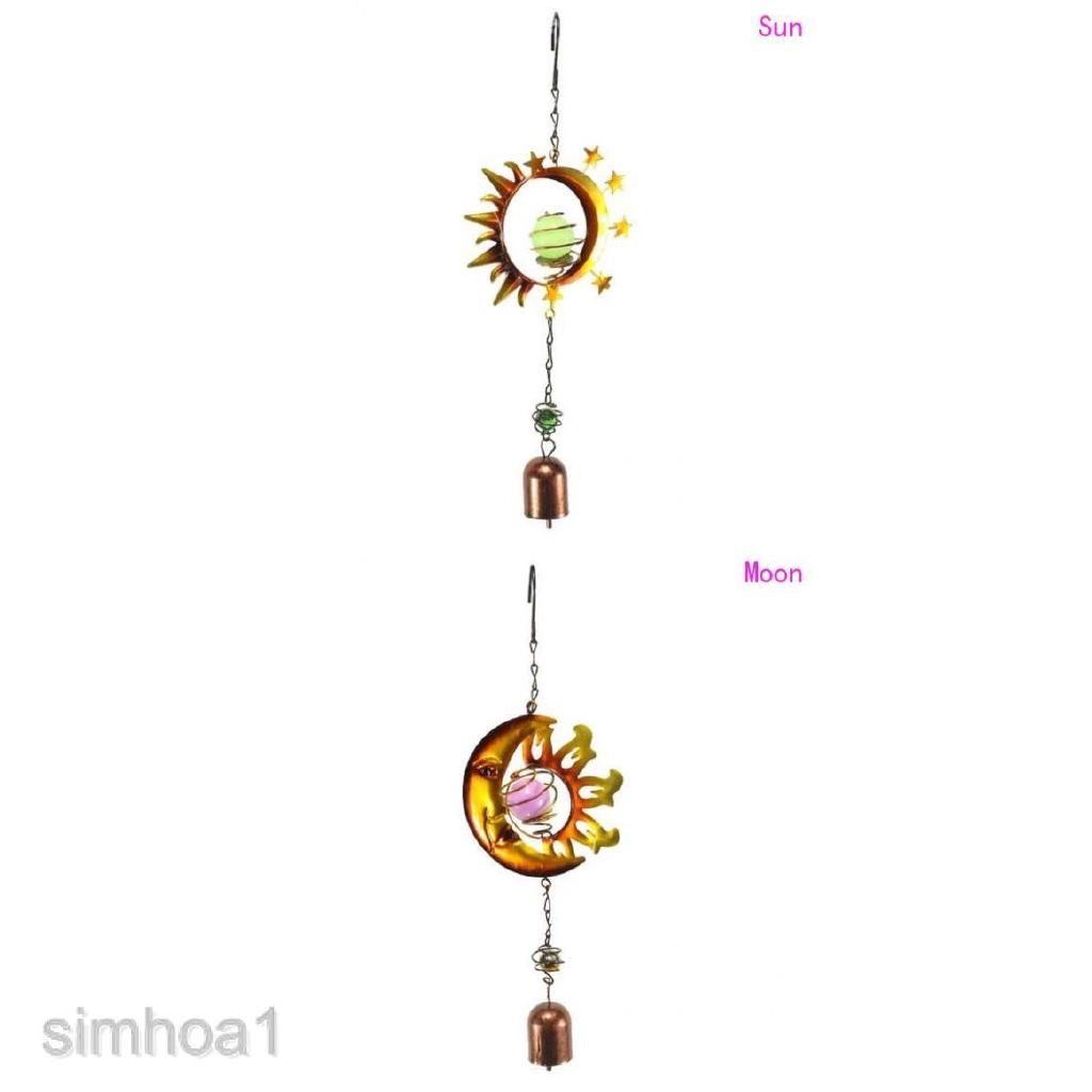 Hanging Garden Metal Wind Spinner SunCatcher Windspinner Twisting Decoration