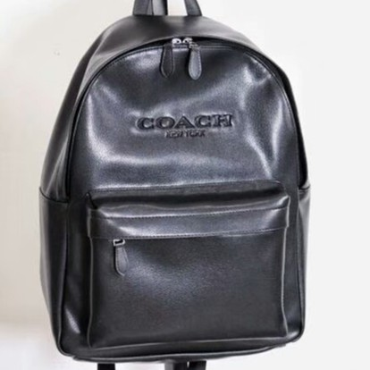 Coach CHARLES PACK IN SMOOTH LEATHER F54770 Black Men Crossbody Backpack  Beg Bag  eb7ddfe719776