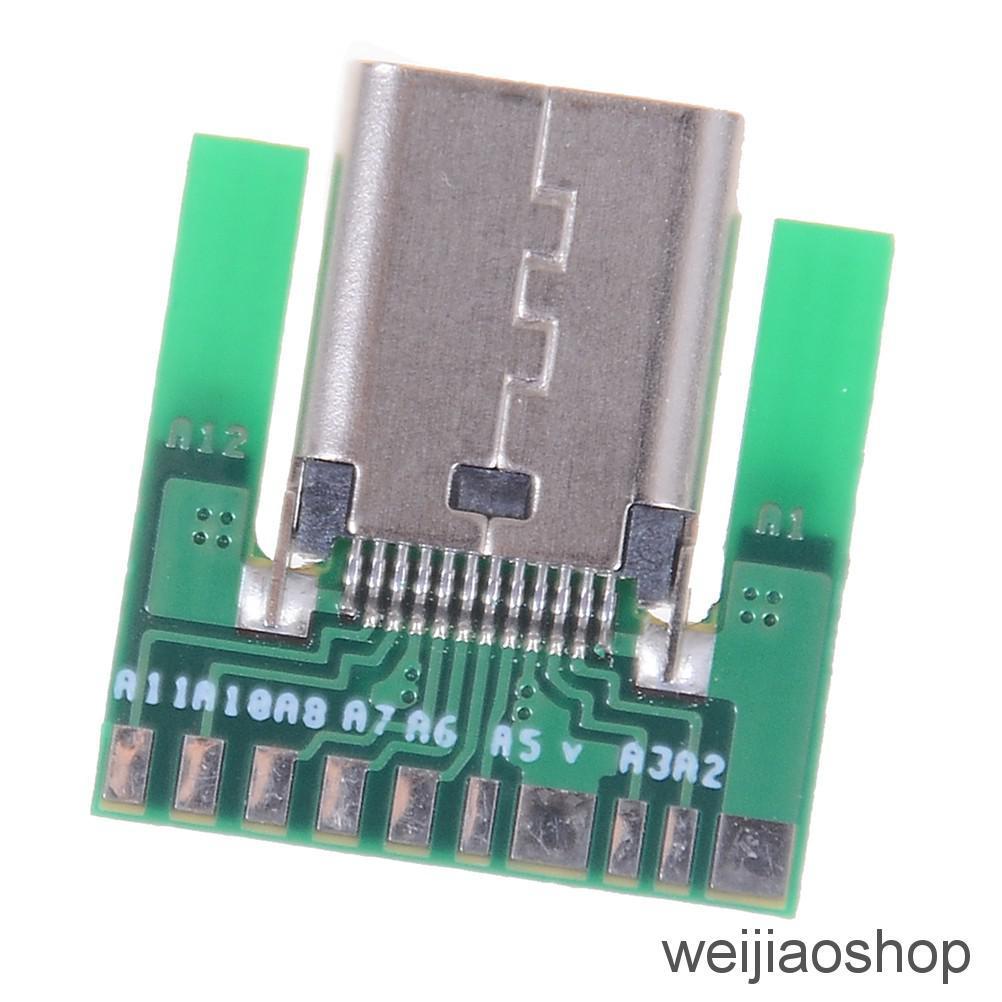 3Pcs Mini USB LED Light Pocket Card Lamp Mobile Power Camping Laptop Black BSCA
