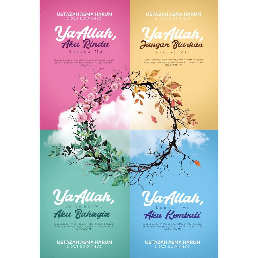 KEMBARA MENUJU ALLAH 4 Buku - Ustazah Asma Harun (Soft Cover) Jangan Biarkan Malaysia
