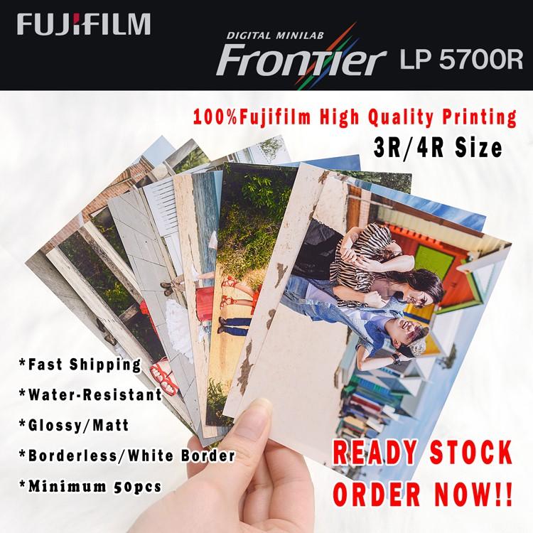 3R High Quality Photo (Matt) 100%Fuji Paper/Minimum 20pcs Per Order