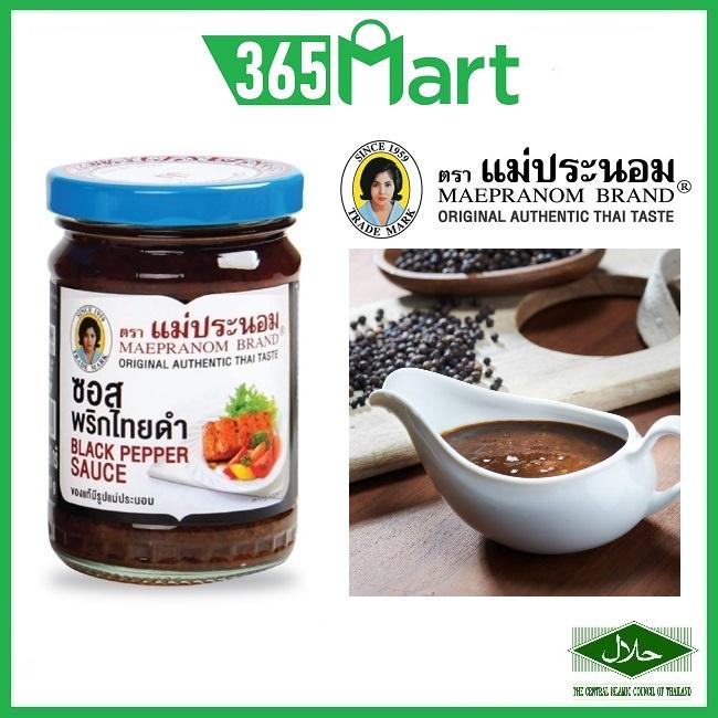 MAEPRANOM Black Pepper Sauce 240g HALAL by 365mart 365 Mart