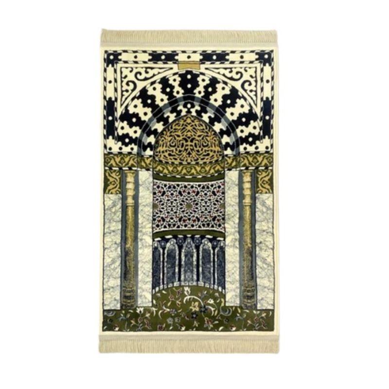 The Prayer Mat Sejadah Mihrab Masjid Nabi Mihrab Prophet's Mosque - TPM010